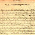 La Borinquena – Arreglada para piano por Anita Otero