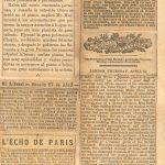 Periodicos Paria y Londres – 1889